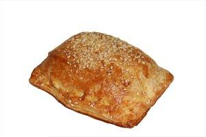 Пирожки слоёные с капустой (с добав.картофеля)