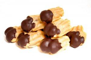 Пирожное «Трубочки с шоколадным кремом»