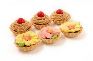 Пирожные корзиночки «Праздничные»