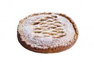 Пироги с клубникой