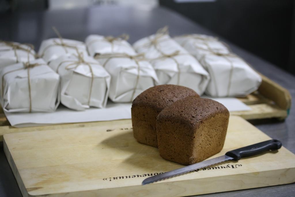 Хлебозавод выпек блокадный хлеб